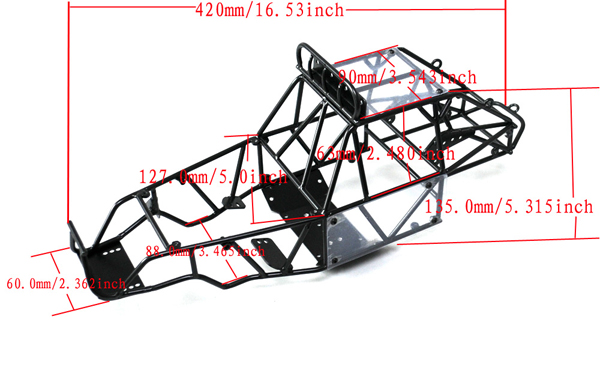 King Of Hammer Scale Crawler Chassis Frame - RC4WD Forums